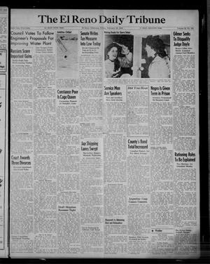 Primary view of object titled 'The El Reno Daily Tribune (El Reno, Okla.), Vol. 52, No. 308, Ed. 1 Friday, February 25, 1944'.