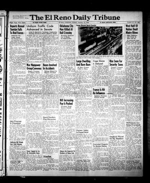 Primary view of object titled 'The El Reno Daily Tribune (El Reno, Okla.), Vol. 57, No. 268, Ed. 1 Tuesday, January 11, 1949'.