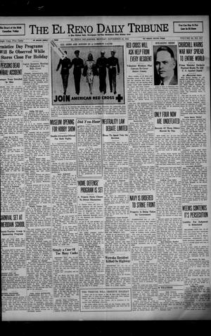 Primary view of object titled 'The El Reno Daily Tribune (El Reno, Okla.), Vol. 50, No. 217, Ed. 1 Monday, November 10, 1941'.