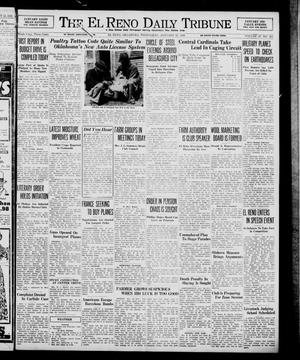 Primary view of object titled 'The El Reno Daily Tribune (El Reno, Okla.), Vol. 47, No. 285, Ed. 1 Wednesday, January 25, 1939'.