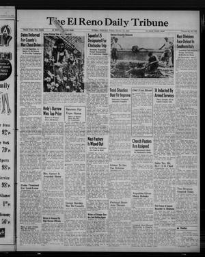 Primary view of object titled 'The El Reno Daily Tribune (El Reno, Okla.), Vol. 52, No. 195, Ed. 1 Friday, October 15, 1943'.