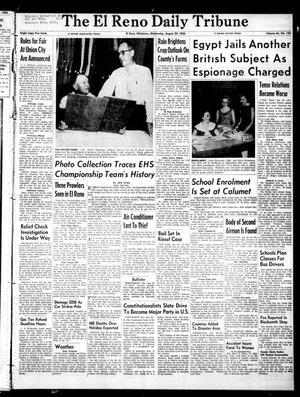 Primary view of The El Reno Daily Tribune (El Reno, Okla.), Vol. 65, No. 156, Ed. 1 Wednesday, August 29, 1956