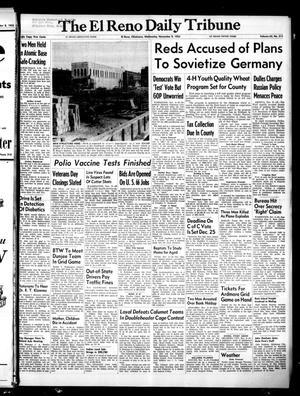 Primary view of The El Reno Daily Tribune (El Reno, Okla.), Vol. 64, No. 215, Ed. 1 Wednesday, November 9, 1955