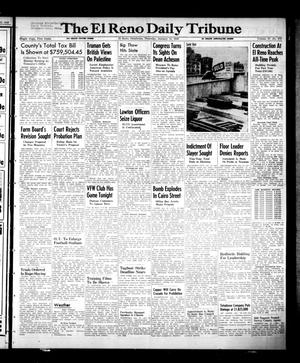 Primary view of object titled 'The El Reno Daily Tribune (El Reno, Okla.), Vol. 57, No. 270, Ed. 1 Thursday, January 13, 1949'.