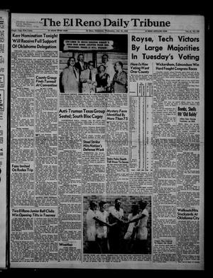 Primary view of The El Reno Daily Tribune (El Reno, Okla.), Vol. 61, No. 123, Ed. 1 Wednesday, July 23, 1952