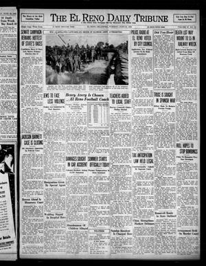 Primary view of object titled 'The El Reno Daily Tribune (El Reno, Okla.), Vol. 47, No. 91, Ed. 1 Tuesday, June 21, 1938'.