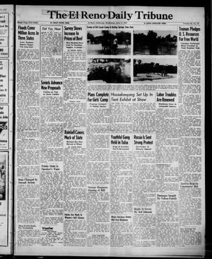 Primary view of object titled 'The El Reno Daily Tribune (El Reno, Okla.), Vol. 56, No. 87, Ed. 1 Wednesday, June 11, 1947'.