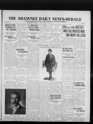 Primary view of object titled 'The Shawnee Daily News-Herald (Shawnee, Okla.), Vol. 19, No. 31, Ed. 1 Monday, October 6, 1913'.