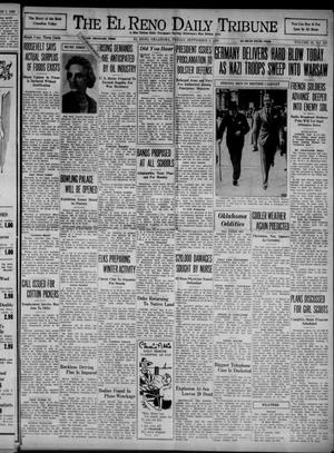 Primary view of object titled 'The El Reno Daily Tribune (El Reno, Okla.), Vol. 48, No. 167, Ed. 1 Friday, September 8, 1939'.