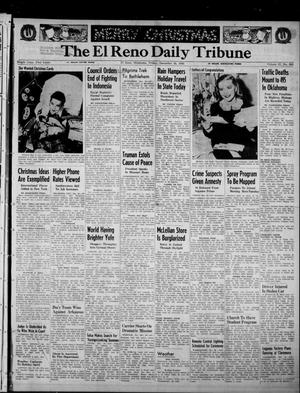 Primary view of object titled 'The El Reno Daily Tribune (El Reno, Okla.), Vol. 57, No. 254, Ed. 1 Friday, December 24, 1948'.