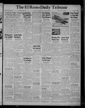 Primary view of object titled 'The El Reno Daily Tribune (El Reno, Okla.), Vol. 53, No. 12, Ed. 1 Tuesday, March 14, 1944'.