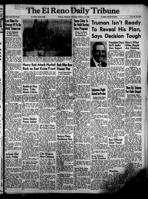 Primary view of The El Reno Daily Tribune (El Reno, Okla.), Vol. 60, No. 297, Ed. 1 Thursday, February 14, 1952