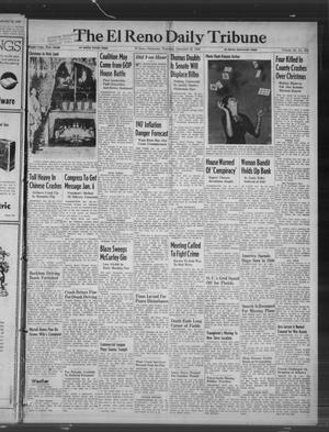 Primary view of object titled 'The El Reno Daily Tribune (El Reno, Okla.), Vol. 55, No. 256, Ed. 1 Thursday, December 26, 1946'.