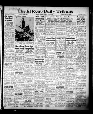 Primary view of object titled 'The El Reno Daily Tribune (El Reno, Okla.), Vol. 58, No. 37, Ed. 1 Tuesday, April 12, 1949'.