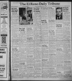 Primary view of object titled 'The El Reno Daily Tribune (El Reno, Okla.), Vol. 58, No. 117, Ed. 1 Sunday, July 17, 1949'.