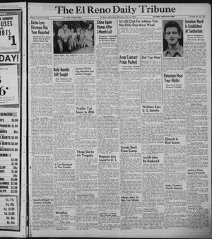 Primary view of object titled 'The El Reno Daily Tribune (El Reno, Okla.), Vol. 58, No. 118, Ed. 1 Monday, July 18, 1949'.