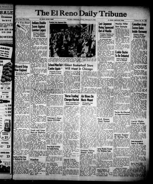 Primary view of object titled 'The El Reno Daily Tribune (El Reno, Okla.), Vol. 53, No. 294, Ed. 1 Friday, February 9, 1945'.