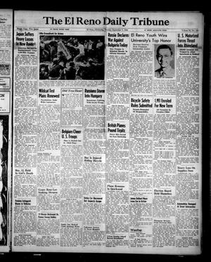 Primary view of object titled 'The El Reno Daily Tribune (El Reno, Okla.), Vol. 53, No. 160, Ed. 1 Tuesday, September 5, 1944'.