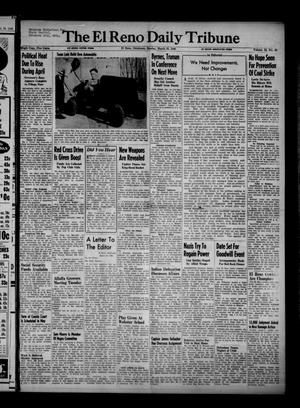 Primary view of object titled 'The El Reno Daily Tribune (El Reno, Okla.), Vol. 55, No. 26, Ed. 1 Sunday, March 31, 1946'.