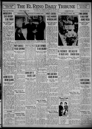 Primary view of object titled 'The El Reno Daily Tribune (El Reno, Okla.), Vol. 48, No. 282, Ed. 1 Monday, January 22, 1940'.