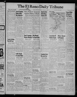 Primary view of The El Reno Daily Tribune (El Reno, Okla.), Vol. 52, No. 162, Ed. 1 Tuesday, September 7, 1943