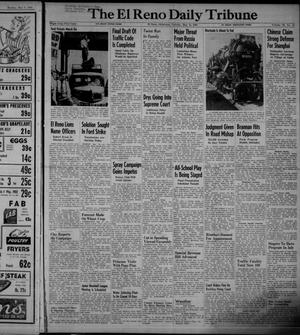 Primary view of object titled 'The El Reno Daily Tribune (El Reno, Okla.), Vol. 58, No. 61, Ed. 1 Tuesday, May 10, 1949'.