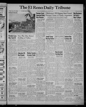 Primary view of object titled 'The El Reno Daily Tribune (El Reno, Okla.), Vol. 52, No. 141, Ed. 1 Thursday, August 12, 1943'.