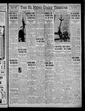 Primary view of object titled 'The El Reno Daily Tribune (El Reno, Okla.), Vol. 49, No. 211, Ed. 1 Friday, November 1, 1940'.
