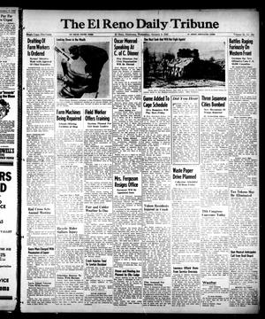 Primary view of object titled 'The El Reno Daily Tribune (El Reno, Okla.), Vol. 53, No. 262, Ed. 1 Wednesday, January 3, 1945'.