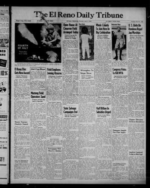 Primary view of object titled 'The El Reno Daily Tribune (El Reno, Okla.), Vol. 52, No. 108, Ed. 1 Sunday, July 4, 1943'.