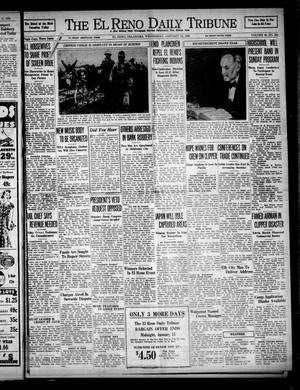 Primary view of object titled 'The El Reno Daily Tribune (El Reno, Okla.), Vol. 46, No. 266, Ed. 1 Wednesday, January 12, 1938'.