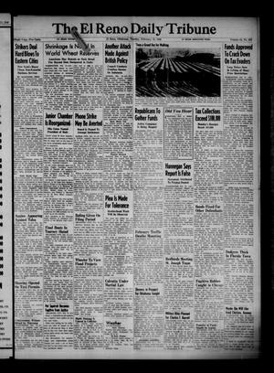 Primary view of object titled 'The El Reno Daily Tribune (El Reno, Okla.), Vol. 54, No. 293, Ed. 1 Tuesday, February 12, 1946'.