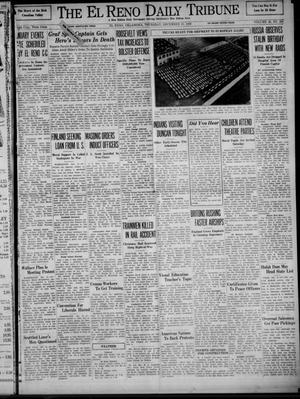 Primary view of object titled 'The El Reno Daily Tribune (El Reno, Okla.), Vol. 48, No. 256, Ed. 1 Thursday, December 21, 1939'.