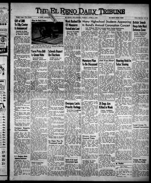 Primary view of object titled 'The El Reno Daily Tribune (El Reno, Okla.), Vol. 52, No. 29, Ed. 1 Friday, April 2, 1943'.