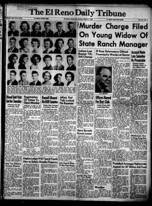 Primary view of object titled 'The El Reno Daily Tribune (El Reno, Okla.), Vol. 61, No. 1, Ed. 1 Sunday, March 2, 1952'.