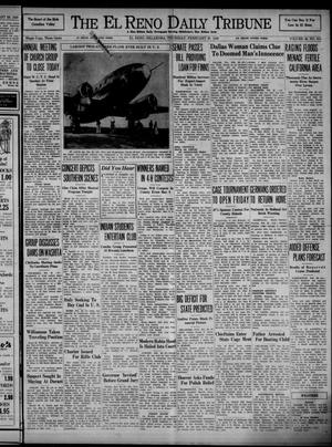 Primary view of object titled 'The El Reno Daily Tribune (El Reno, Okla.), Vol. 48, No. 315, Ed. 1 Thursday, February 29, 1940'.