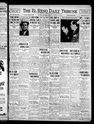 Primary view of object titled 'The El Reno Daily Tribune (El Reno, Okla.), Vol. 46, No. 297, Ed. 1 Thursday, February 17, 1938'.
