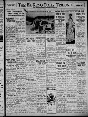 Primary view of object titled 'The El Reno Daily Tribune (El Reno, Okla.), Vol. 48, No. 286, Ed. 1 Friday, January 26, 1940'.