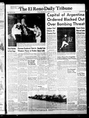 Primary view of The El Reno Daily Tribune (El Reno, Okla.), Vol. 64, No. 170, Ed. 1 Sunday, September 18, 1955