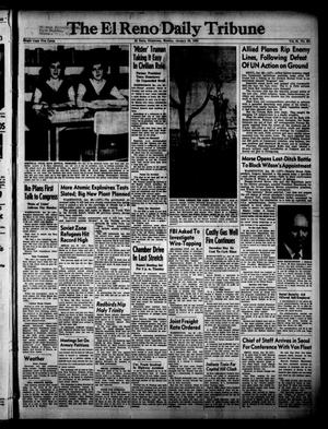 Primary view of object titled 'The El Reno Daily Tribune (El Reno, Okla.), Vol. 61, No. 281, Ed. 1 Monday, January 26, 1953'.