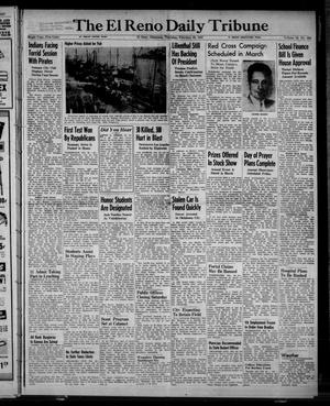 Primary view of object titled 'The El Reno Daily Tribune (El Reno, Okla.), Vol. 55, No. 304, Ed. 1 Thursday, February 20, 1947'.