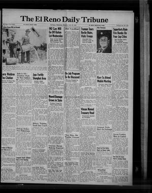 Primary view of object titled 'The El Reno Daily Tribune (El Reno, Okla.), Vol. 54, No. 117, Ed. 1 Monday, July 16, 1945'.