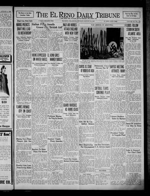 Primary view of object titled 'The El Reno Daily Tribune (El Reno, Okla.), Vol. 49, No. 142, Ed. 1 Monday, August 12, 1940'.