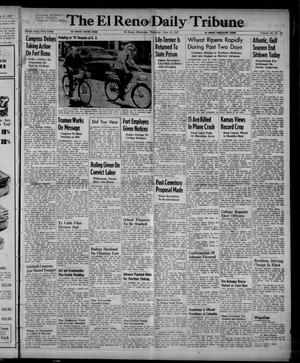 Primary view of object titled 'The El Reno Daily Tribune (El Reno, Okla.), Vol. 56, No. 94, Ed. 1 Thursday, June 19, 1947'.