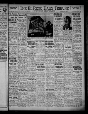Primary view of object titled 'The El Reno Daily Tribune (El Reno, Okla.), Vol. 49, No. 151, Ed. 1 Thursday, August 22, 1940'.