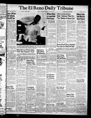 Primary view of The El Reno Daily Tribune (El Reno, Okla.), Vol. 63, No. 115, Ed. 1 Monday, July 12, 1954
