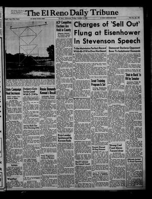 Primary view of object titled 'The El Reno Daily Tribune (El Reno, Okla.), Vol. 61, No. 184, Ed. 1 Friday, October 3, 1952'.
