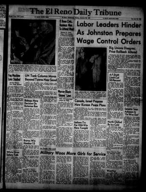 Primary view of object titled 'The El Reno Daily Tribune (El Reno, Okla.), Vol. 59, No. 283, Ed. 1 Friday, January 26, 1951'.