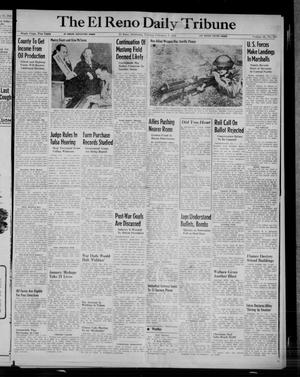 Primary view of object titled 'The El Reno Daily Tribune (El Reno, Okla.), Vol. 52, No. 287, Ed. 1 Tuesday, February 1, 1944'.