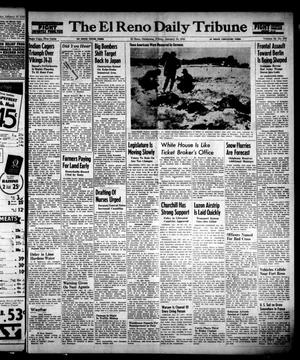 Primary view of object titled 'The El Reno Daily Tribune (El Reno, Okla.), Vol. 53, No. 276, Ed. 1 Friday, January 19, 1945'.